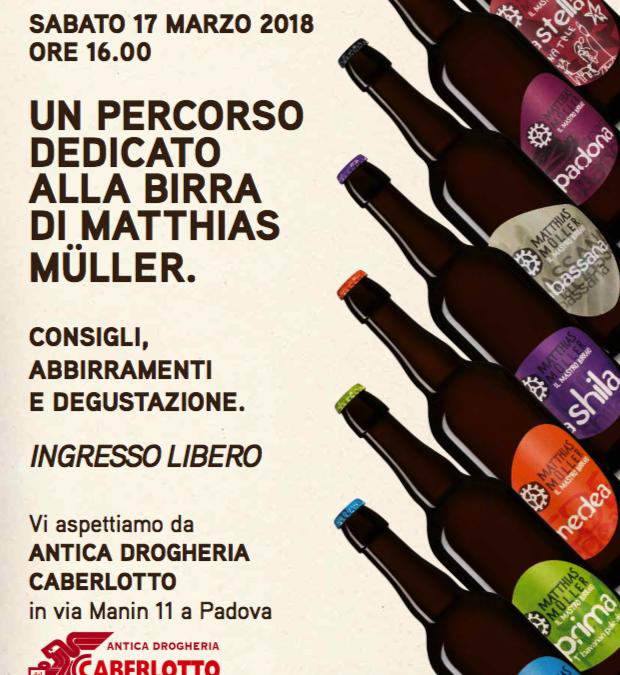Degustazione 17 Marzo da Caberlotto a Padova!
